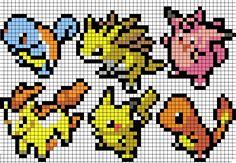 Pokemon cross stitch pattern. Free ($0).