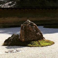 Ryoan-ji Temple #ryoanjitemple #temple #zengarden #rockgarden #kyoto #japan #winter2015 #invierno2015