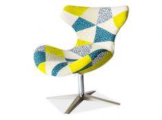 Fotoliu Elvis A Pinterest Home, Ron, Egg Chair, Armchair, Sweet Home, Living Room, Metal, Design, House