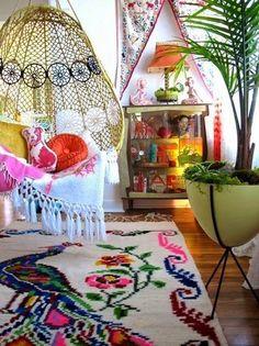 EN MI ESPACIO VITAL: Muebles Recuperados y Decoración Vintage: Un rincón perfecto { A perfect nook }