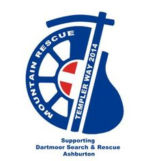 The logo for the Templer Way 2014 sponsored walk in aid of Dartmoor rescue at Ashburton. Join the popular walk by registering at http://dsrtashburton.org.uk/templerway