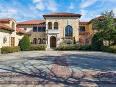 Italian style luxury home :: Dallas, Texas