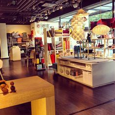 """See 35 photos and 7 tips from 475 visitors to Illums Bolighus. """"One of Stockholms top places for interior design. Danish Design Store, Stockholm, Four Square, Liquor Cabinet, Restaurant, Interior Design, 10 Days, Sweden, Furniture"""