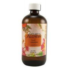 Nature's Alchemy Essential Oil - 100 Percent Pure - Lavender - 16 Fl Oz