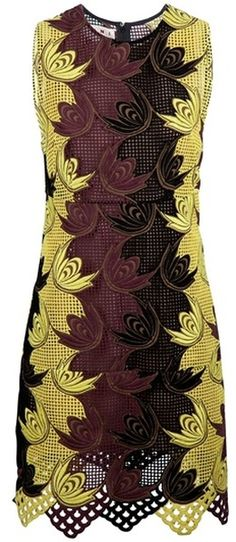 Marni Embroidered Dress