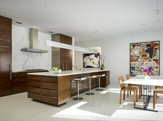 Northbrook House - contemporary - kitchen - chicago - Wheeler Kearns Architects