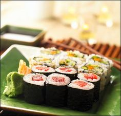 I still wanna learn how to make my own sushi rolls! Here's a recipe for Philadelphia Rolls