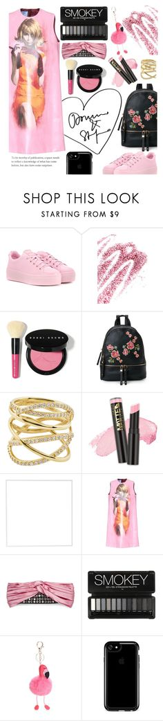 """Pink"" by sallyqueen ❤ liked on Polyvore featuring Kenzo, Obsessive Compulsive Cosmetics, Bobbi Brown Cosmetics, Urban Expressions, Lana, L.A. Girl, Menu, Prada, Gucci and Speck"