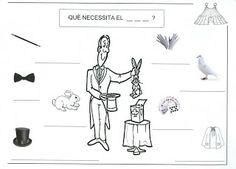 PROJECTS DE TREBALL A INFANTIL...: Projecte de treball:el circ Memories, Comics, Pallet Furniture, Places, Circus Activities, Educational Games, Drawing For Kids, Clowns, Kids
