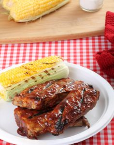 Sweet and spicy barbecue pork spareribs