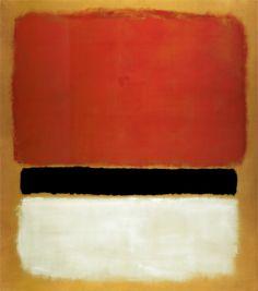 Untitled (Red, Black, White on Yellow), 1955 by Mark Rothko - Canvas, Wood, Acrylic, Aluminium - ArtToCanvas