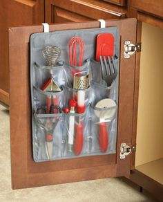 Cabinet Over the Door 9 Pocket Organizer $8.00 #Collections