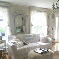 Shabby and Charming: French style at Amy's house