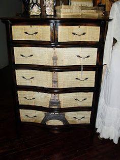Eiffel Tower Dresser avierenouvele.com