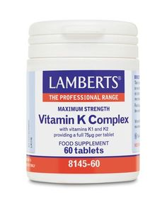 Lamberts Maximum Strength Vitamin K Complex 60 Lamberts Maximum Strength Vitamin K Complex 60 Tablets: Express Chemist offer fast delivery and friendly, reliable service. Buy Lamberts Maximum Strength Vitamin K Complex 60 Tablets online from Expre http://www.MightGet.com/january-2017-11/lamberts-maximum-strength-vitamin-k-complex-60.asp