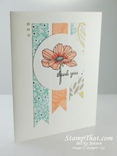 Peaceful Petals stamp set/pretty layers