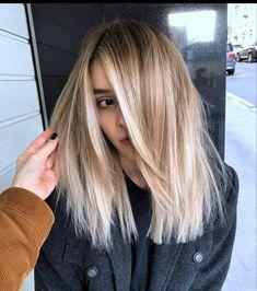 Blonde Hair Looks, Great Hair, Hair Today, Gorgeous Hair, Beautiful, Hair Dos, Balayage Hair, Hair Trends, New Hair