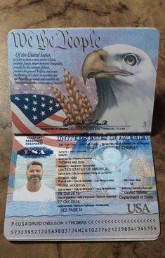 Passport Template, Id Card Template, Passport Card, Passport Services, Passport Online, Driver License Online, Driver's License, Real Online, United States Passport