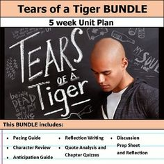 Tears of a Tiger by Sharon Draper Unit Test | Student, The o'jays ...