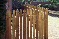 Picket Style Fences - 5' Level Top French Gothic Fence