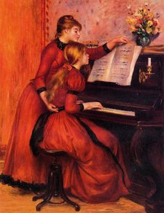 the piano lesson,brahms,classical music