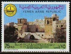 Postage stamp, Yemen. #Yemen #stamps