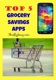 This list of the Top 5 Grocery Savings Apps for Your Smartphone will help you save money at the grocery store on every shopping trip.