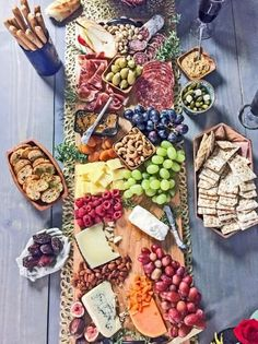 Create Your Own Party-Perfect Charcuterie + Cheese Board | Entertaining Ideas & Party Themes for Every Occasion | HGTV