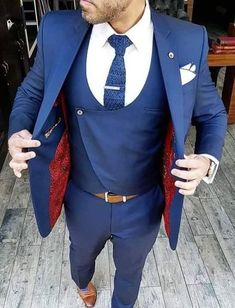 Cheap blue tuxedos for prom, Buy Quality prom tuxedos men directly from China tuxedo prom Suppliers: 2017 New Classic Style Tuxedos For Men Groomsmen Men's Suit Black Lapel Blue Bridegroom Wedding Prom Suits (Jacket+Pants+Vest) Wedding Dress Men, Wedding Suits, Blue Suit Wedding, Trendy Wedding, Prom Suit Jackets, Terno Slim Fit, Prom Suits For Men, Suits For Men Online, Suit For Men