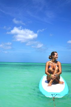 An interview with Rachel Brathen. I just love those pics of Rachel doing yoga on a paddle board!
