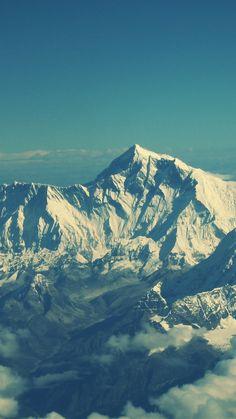 everest, mountain,