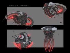 Drone Design : Drones Zak Foreman on ArtStation at www. Muse Drones, Character Concept, Character Design, Mode Cyberpunk, Robot Animal, Cool Robots, Star Wars Droids, Modelos 3d, Robot Concept Art