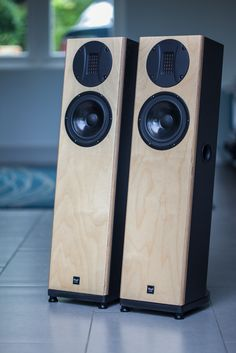Hifi Speakers, Monitor Speakers, Bookshelf Speakers, Built In Speakers, Hifi Audio, Speaker Building, Floor Standing Speakers, Audio Design, High End Audio