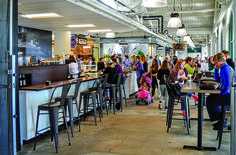 Food Halls--take a load off and order a beer--by DRAFT Magazine