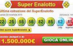 Strane casualità del Superenalotto #superenalotto