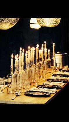 Sfeervol winter tafel