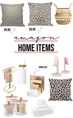 I've compiled some budget friendly home decor items that are sure to wow! Come check out some of my favorite things! Happy Shopping! #happyshopping #homedecor #favoritethings #budgetfriendly #onlineshopping