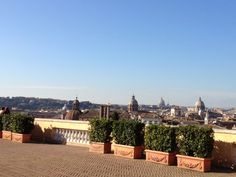 Lunch with a view of Rome