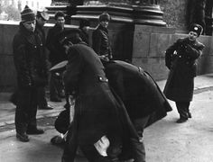 KGB officer Putin is supervising opposition arrests. 1989