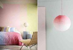 Papiers peints en couleurs différentes