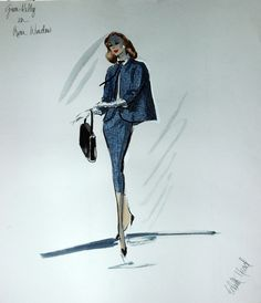 costume designer Edith Head