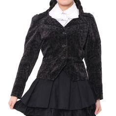 http://www.wunderwelt.jp/products/detail2359.html ☆ ·.. · ° ☆ ·.. · ° ☆ ·.. · ° ☆ ·.. · ° ☆ ·.. · ° ☆ Velveteen rose pattern jacket PEACENOW ☆ ·.. · ° ☆ How to order ☆ ·.. · ° ☆ http://www.wunderwelt.jp/blog/5022 ☆ ·.. · ☆ Japanese Vintage Lolita clothing shop Wunderwelt ☆ ·.. · ☆ #egl