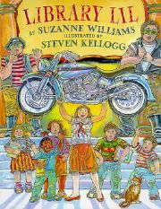 Library Lil by Suzanne Williams - A formidable librarian makes readers not only out of the once resistant residents of her small town, but out of a tough-talking, television-watching motorcycle gang as well. Library Lessons, Library Books, Library Week, Kid Books, Library Ideas, Teaching Reading, Teaching Tools, Guided Reading, Learning