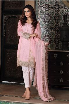 57e50c471d Maria B has rolled out her Festival Collection for Eid The designer has  chosen the gorgeous Maya Ali to portray the spirit of their Eid collection.