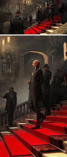 Concept art for Dishonored by Sergey Kolesov