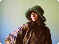 Floppy Brim Winter Hat
