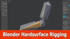 Blender Hardsurface Rigging and Weightpainting
