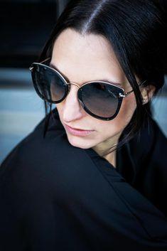 Black is always a option. #black #blackfashion #style #faceprint #faceprinteyewearlove  #eyewear #eyewearblogger #brille #sonnenbrille #glasses #sunglasses #spectacles #eyewearfashion #fashion #glassesgirl #eyewearblog #eyeweardesign #eyewearstyle #fashion #design #accessories #eyeglasses #sunnies #eyeweartrends photo by @marina.schedler.photography Eyewear Trends, Eye Glasses, Cat Eye Sunglasses, Sunnies, Face, Photography, Fashion Design, Accessories, Style