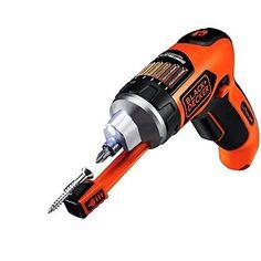 Black & Decker 4V Electric Screwdriver w/ Magnetic Screw Holder Home Tools NEW #BlackDecker