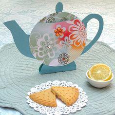 Pretty Paper Teapots http://spoonful.com/crafts/pretty-paper-teapots